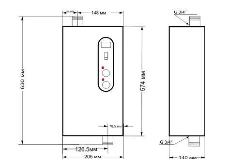 Котел тэновый электрический «TENOX» Standart N 220В / 3-4-4,5-5-6 кВт - фото pic_557db735de7b3b9c9a7f54ea876d6121_1920x9000_1.png