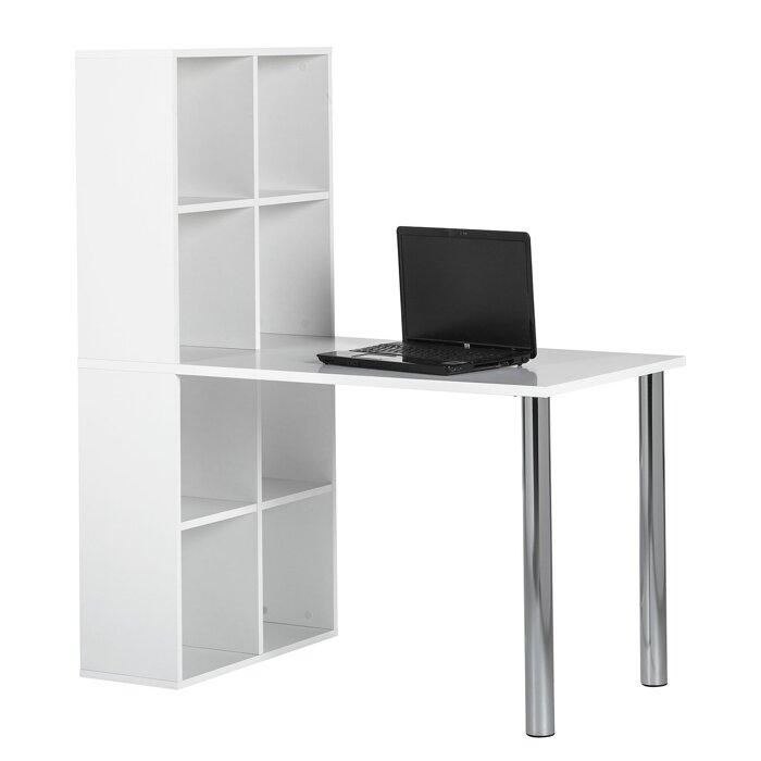 Стол письменный компьютерный из массива дерева 061 - фото 1