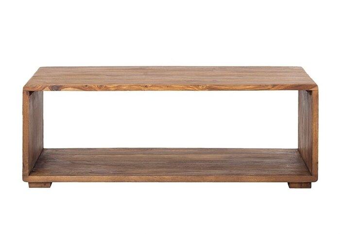 Стол журнальный из массива дерева 025 - фото 2