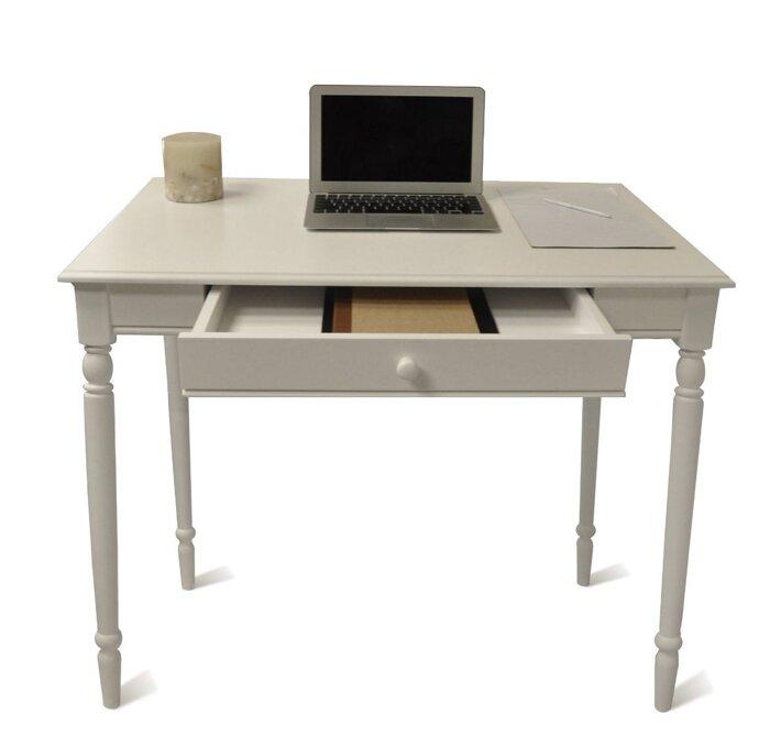 Стол письменный компьютерный из массива дерева 035 - фото 1