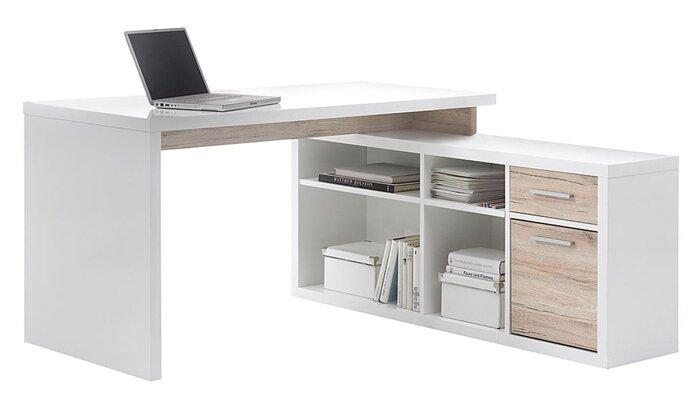 Стол письменный компьютерный из массива дерева 065 - фото 1