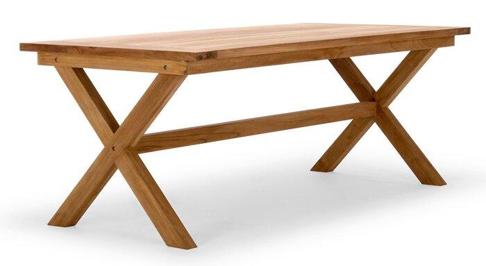 Стол обеденный из массива дерева 034 - фото 1
