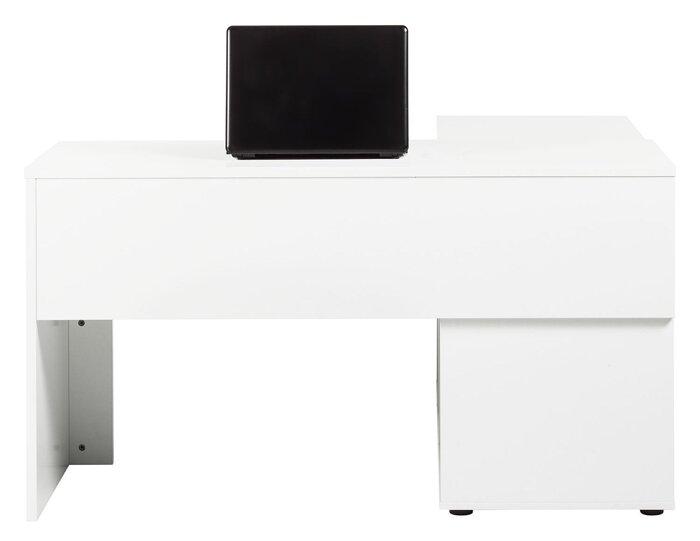 Стол трансформер письменный компьютерный из массива дерева 058 - фото 3