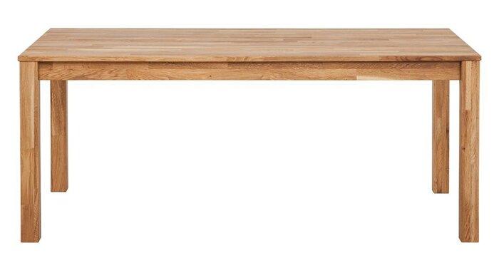 Стол обеденный из массива дерева 027 - фото 2