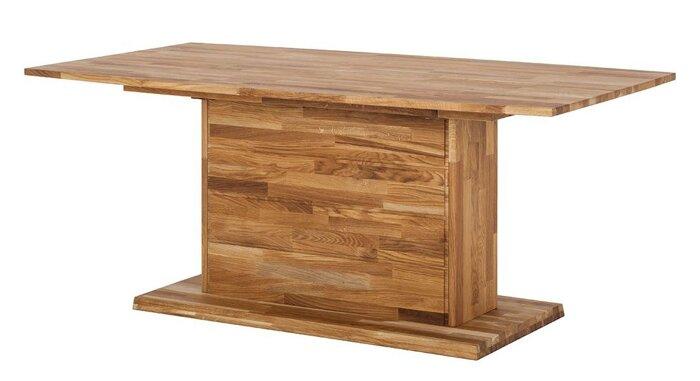 Стол обеденный из массива дерева 024 - фото 1