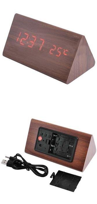 Часы настольные многофункциональные VST 861-1: красные, 146х81х72 мм - фото pic_912605e5a0b306a_700x3000_1.jpg