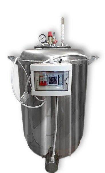 Автоклав А100 electro: нержавеющая сталь, водяная подушка для охлаждения, 100 банок - фото pic_4a339b1c81993df_700x3000_1.jpg
