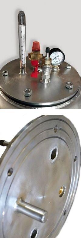 Бытовой автоклав для консервирования А16 газовый, нержавеющая сталь - фото pic_289ecf811947988_700x3000_1.jpg
