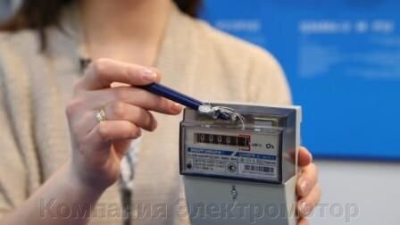 Счетчик Энергомера ЦЭ 6807Б-U K 1,0 220В 5-60А М6Р5.1