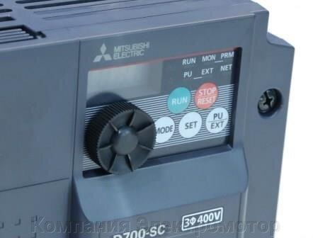 Преобразователь частоты Mitsubishi FR-D740-022-EC