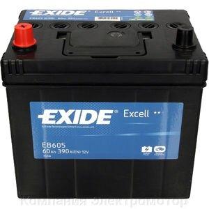 Аккумулятор Exide 6ст-60 R+ (390А) 230*172*220