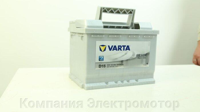 Аккумулятор Varta 6st-85 Silver Dynamic -/+ (код 580200080)