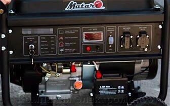 Генератор бензиновый MATARI BS 7000E + блок управления ATS MATARI 1P50/3P25