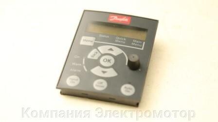 Частотный преобразователь Danfoss VLT Micro Drive FC 51 132f0022 2,2 кВт 380 В - фото панель управления