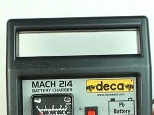 Зарядное устройство Deca Mach 214 - фото Зарядное устройство Deca Mach 214