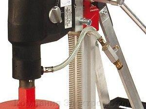 Станок алмазного бурения RIDGID RB - 208/3-с  (станина, набор анк. крепления, вакуумный насос, возд. шланг, гаечн. ключи)
