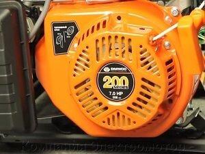Бензиновый генератор Daewoo GDA 3300 - фото Бензиновый генератор Daewoo GDA 3300