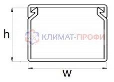 Кабельный канал 60 х 60 2м - фото pic_1215a774619442c9f45855bc30ffcdd1_1920x9000_1.jpg
