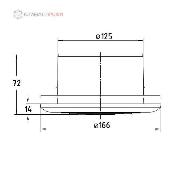 Диффузор МВ 125 ПФс пластиковый - фото pic_5a214c22688f7c66e960497d51fc57f1_1920x9000_1.jpg