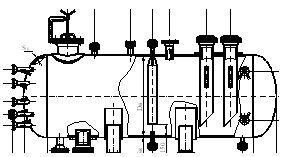 Емкостное оборудование горизонтальное