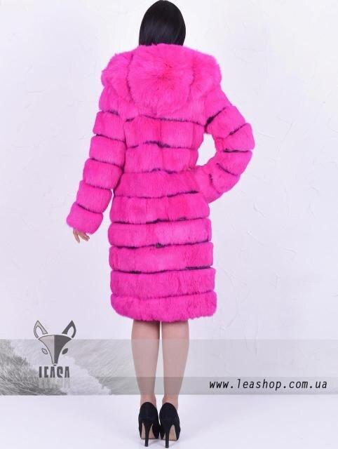 Рожева довга шуба з кролика - фото pic_96183e68dc3a609_700x3000_1.jpg