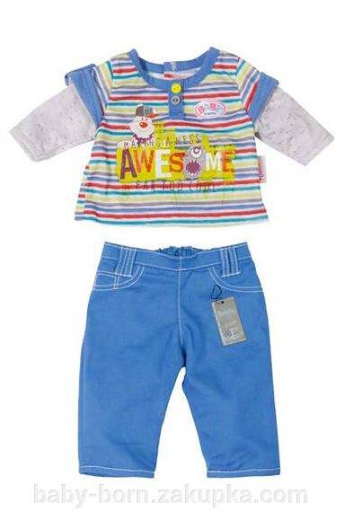 Костюм для мальчика Baby Born Беби Бон Zapf Creation - фото pic_f19820e62533b75_1920x9000_1.jpg
