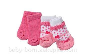 Носочки для куклы Baby Born 2 пары в комплекте Zapf Creation 819517 - фото pic_8bca329c9d50c9a_1920x9000_1.jpg