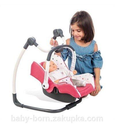 Стульчик для кормления  Baby born Smoby Toys Maxi-Cosi & Quinny 3 в 1 Розовое Франция арт. 240230 - фото pic_c5c2ae3d0e3bdc8afc490dcd25e26c16_1920x9000_1.jpg