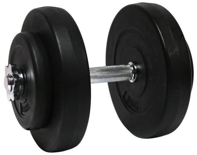 Гантели наборные 2*10 кг с металлическим грифом (20 кг общий вес) - фото pic_c57491b6e5f7134_1920x9000_1.jpg