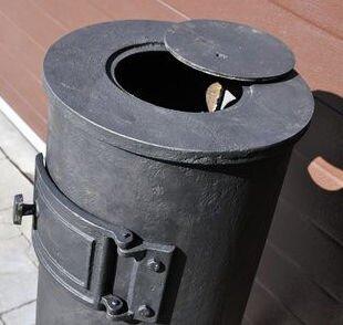 Печь буржуйка чугунная Карлик Met-Spos 6 кВт камин (піч буржуйка чавунна камін) - фото pic_43566db5b486c40_1920x9000_1.jpg
