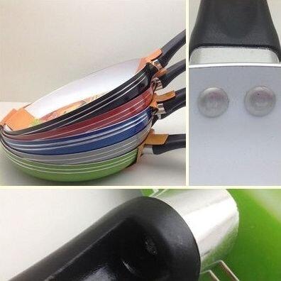 Сковорода с керамическим покрытием 26 см (сковорода з керамічним покриттям) - фото 3