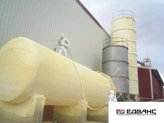 Теплоизоляция промышленного оборудования пенополиуретаном - фото теплоизоляция ППУ промышленного оборудования