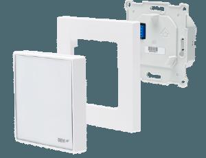 Терморегулятор сенсорный програмируемый DEVIreg™ Smart Pure White с Wi-Fi модулем и интеллектуальным таймером - фото DEVIreg Smart