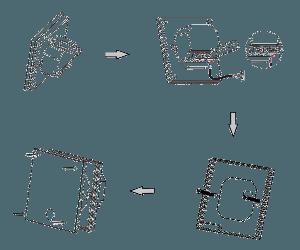 Поочередность установки Nexans Millitemp 2