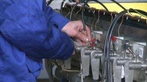 Измерение сопротивления нагревательного кабеля