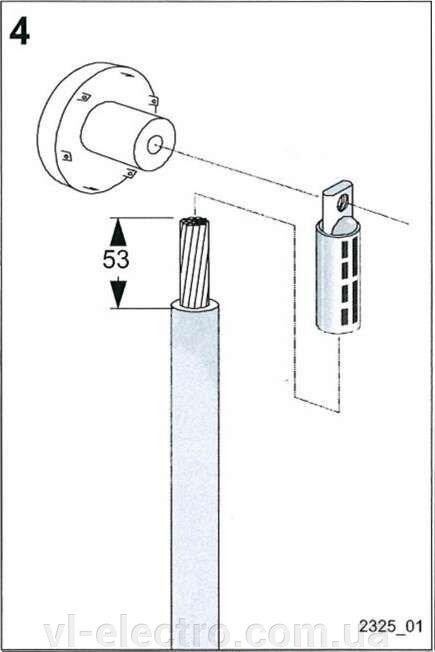 Экранированный адаптер на 250 А для присоединения одножильных кабелей - фото pic_f4872d64b8dc18b_700x3000_1.jpg