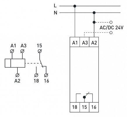 Реле задержки времени на включение 0,3-30сек e. control. t15 - фото pic_65c10bdfa4ec8004c94ec3ef0256fc38_1920x9000_1.jpg