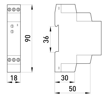 Реле времени (задержка выключения во время отключения питания) e. control. t07 - фото pic_5d72641bb1f85f6b823b1d7845051a36_1920x9000_1.jpg