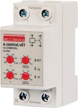 Реле контроля напряжения однофазное e. control. v01, 25А - фото pic_7e3a711ee950a85803349ff13c7fa02e_1920x9000_1.jpg