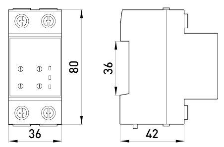 Реле контроля напряжения однофазное e. control. v01, 25А - фото pic_13307d28d959b6b6473f7fe3157dd958_1920x9000_1.jpg