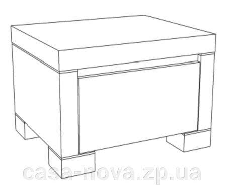 Кровать 180 АМИНА цвет венге - Бучинский - фото 2