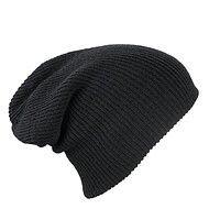 Трикотажная шапка длинный крой - ультрамарин mb7955 - фото master_5.jpg