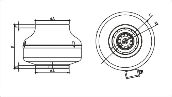 Вентилятор Канальный WK 200 - фото 4