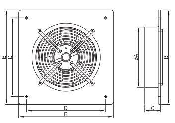 Осевой Вентилятор WOKS 450 - фото 1