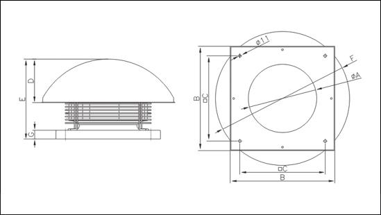 Вентилятор Крышный WD II 150 - фото pic_fc5cec95340cbcfb675a2d274c195267_1920x9000_1.png