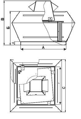 Крышный Вентилятор SRP 56/40-4D - фото 4