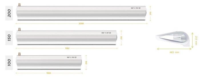 Тепловая завеса WING E200 - фото 2