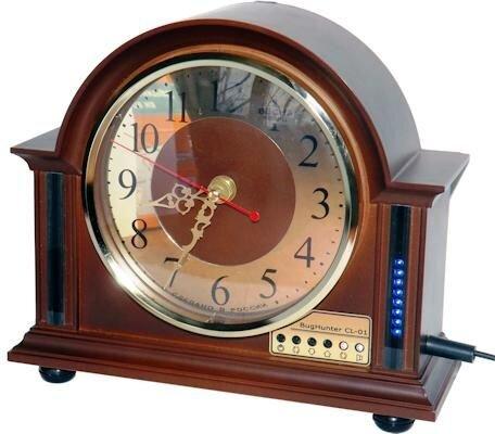 Детектор-обнаружитель жучков и скрытых видеокамер в корпусе настольных кварцевых часов BugHunter CL-01 - фото pic_387032433791868_1920x9000_1.jpg