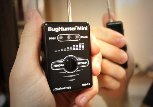 Портативный детектор жучков и скрытых камер наблюдения BugHunter Mini - фото pic_a1dbb0e905cd20d_1920x9000_1.jpg