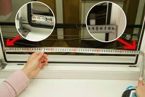 Как замерять москитную сетку на окно